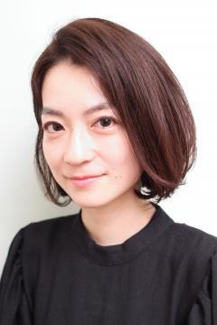 NEW HAIR*中谷美紀さん風*大人ショートボブ