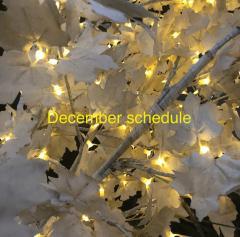 12月定休日・年末年始営業のお知らせ