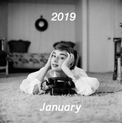 2019年1月のスタイリスト公休と休業日のお知らせ。