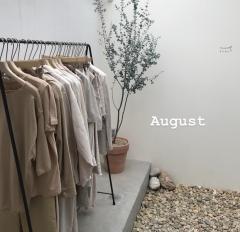 8月スタイリスト公休と定休日のお知らせ