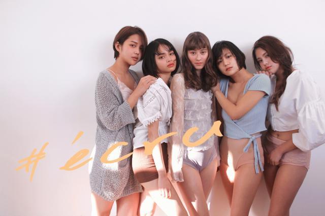 2018spring makeup #écru(エクリュ)